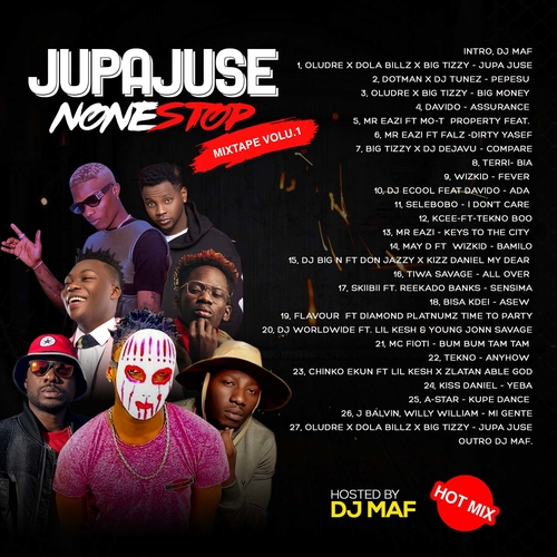 Deejay Maf - Jupa Juse Non Stop Mix Vol.1