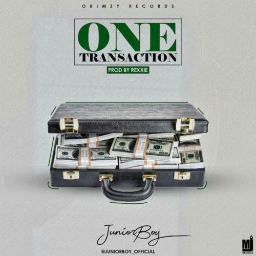 Junior Boy – One Transaction [AuDio]