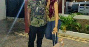 Emenike and his Wife