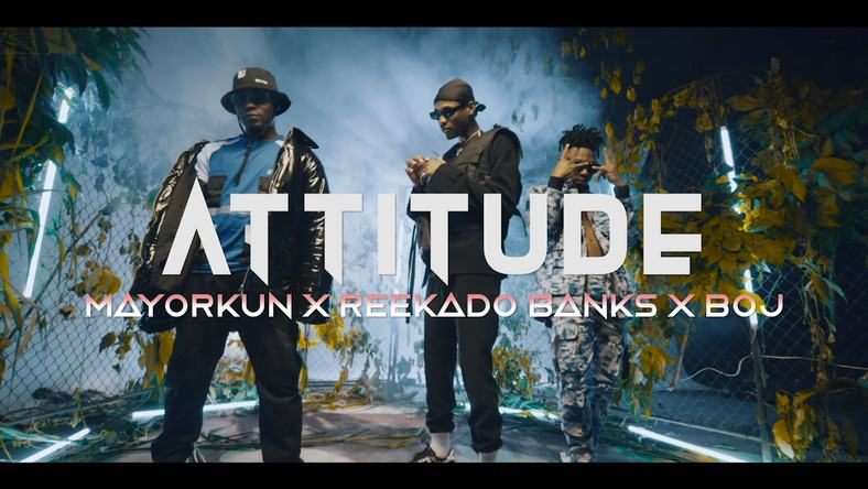 Attitude, Mayorkun, Reekado Banks & BOJ – Higher Your Body [ViDeo]
