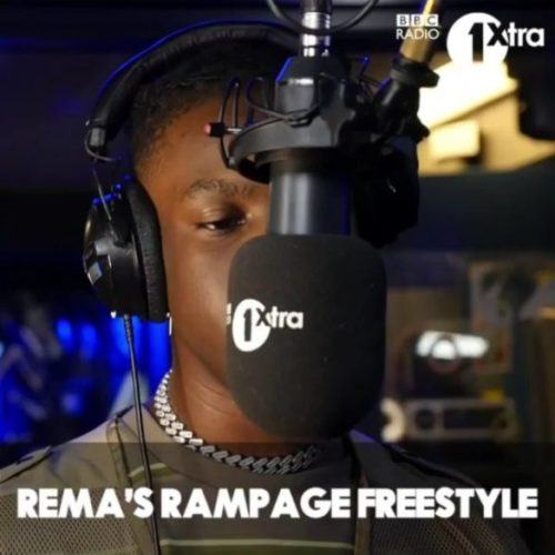 Rema – Rampage (Freestyle) [AuDio]