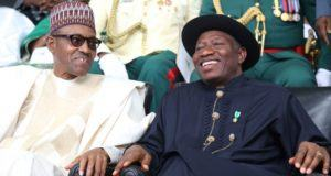 GEJ and Muhammadu Buhari