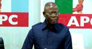 Adams Oshiomhole says APC Cannot Be Stopped In Edo State