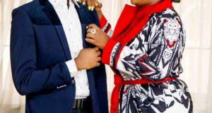 Anita Joseph and her husband