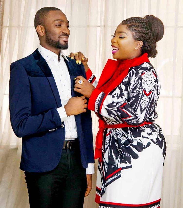 Anita Joseph and her husband, Real MC Fish