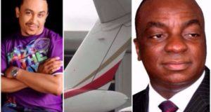 Daddy Freeze and David Oyedepo