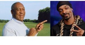 Bill Cosby and Snoop Dogg