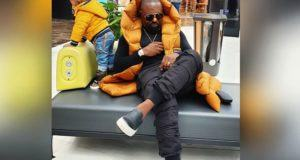 Jim Iyke and Son