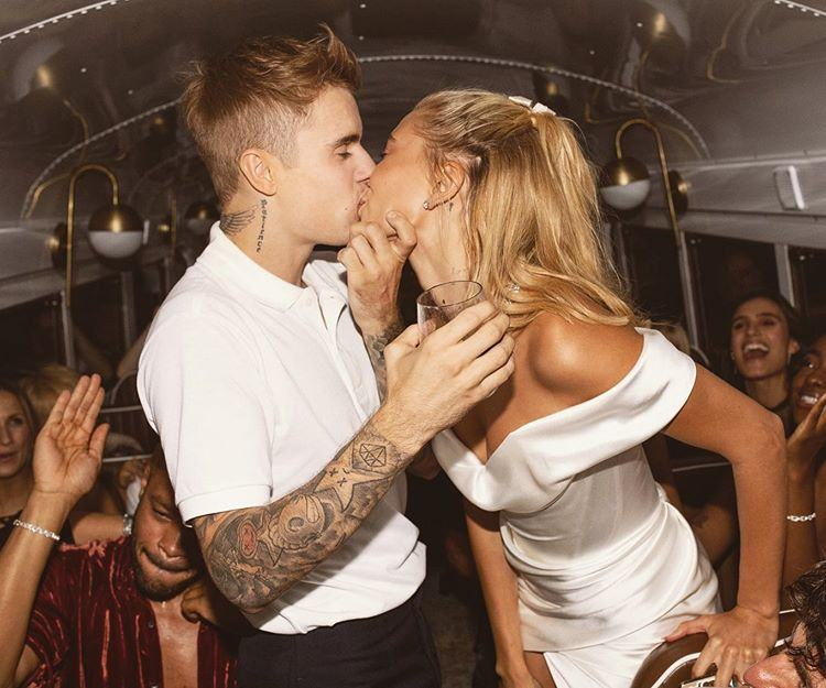 Hailey Baldwin and Justin Beiber