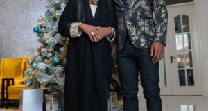 Odion Ighalo and his mum