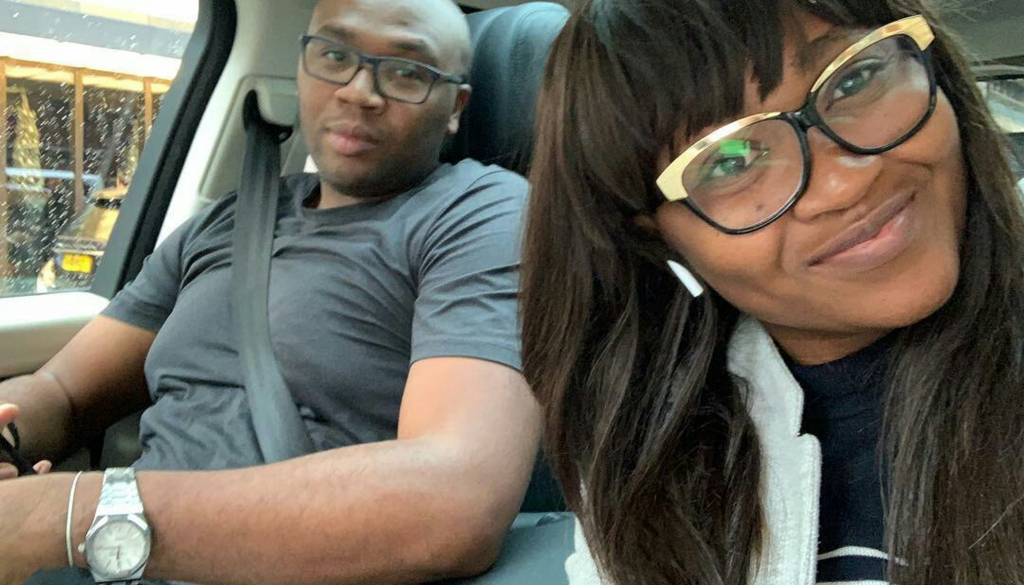 Jason Njoku and Mary Njoku