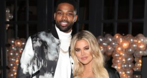 Khloe Kardashian and Tristan Thompson
