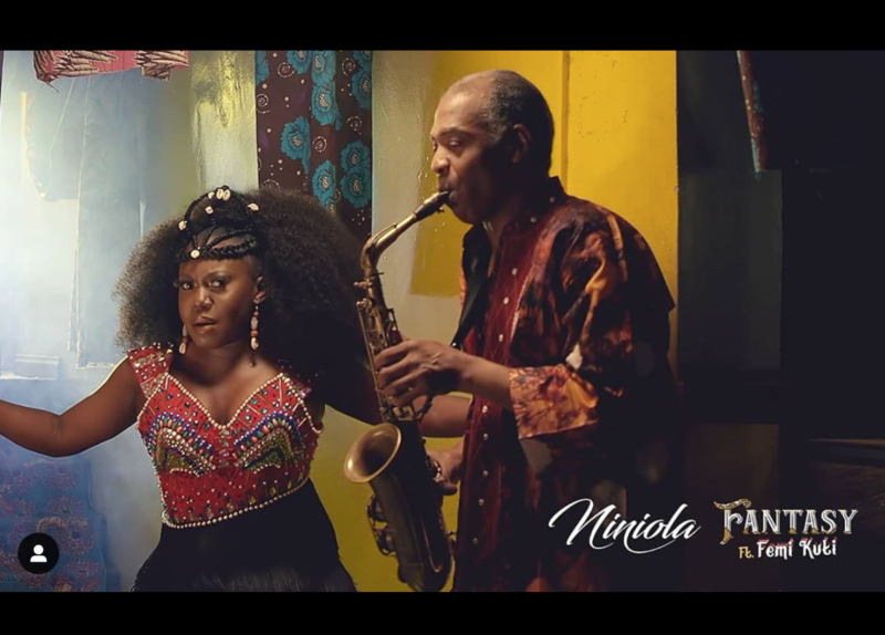 Niniola – Fantasy ft Femi Kuti [ViDeo]