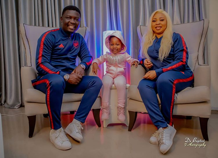 Seyi Law and his family