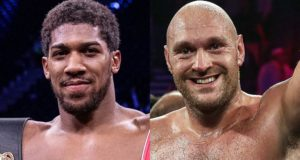 Anthony Joshua and Tyson Fury