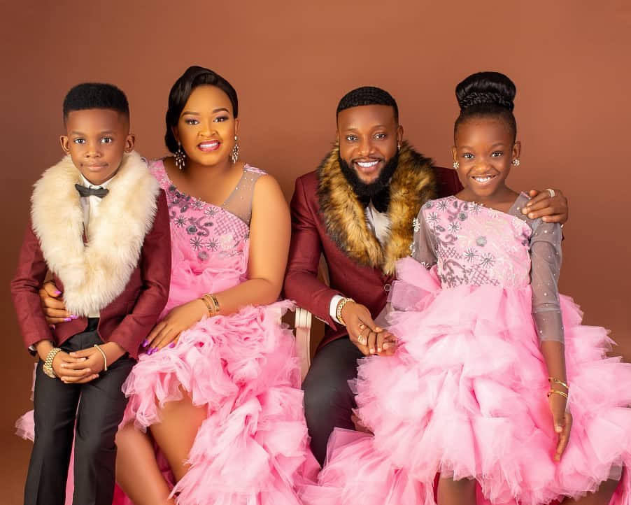KCee and his Family