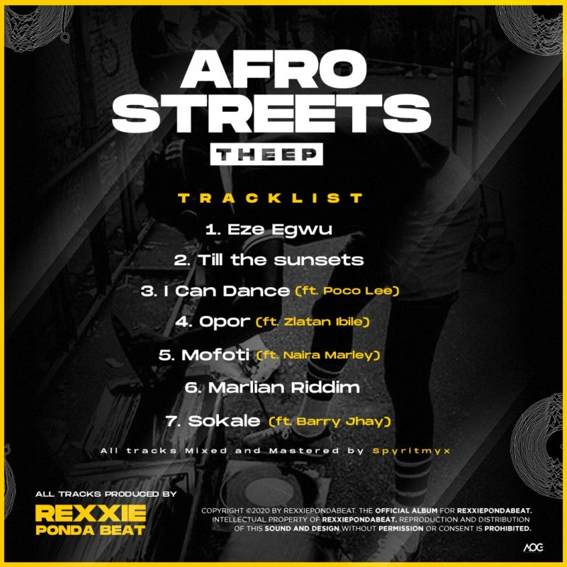 Rexxie - AfroStreets EP