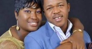 Francis Duru and his wife