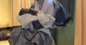 Lamido Sanusi and his daughter