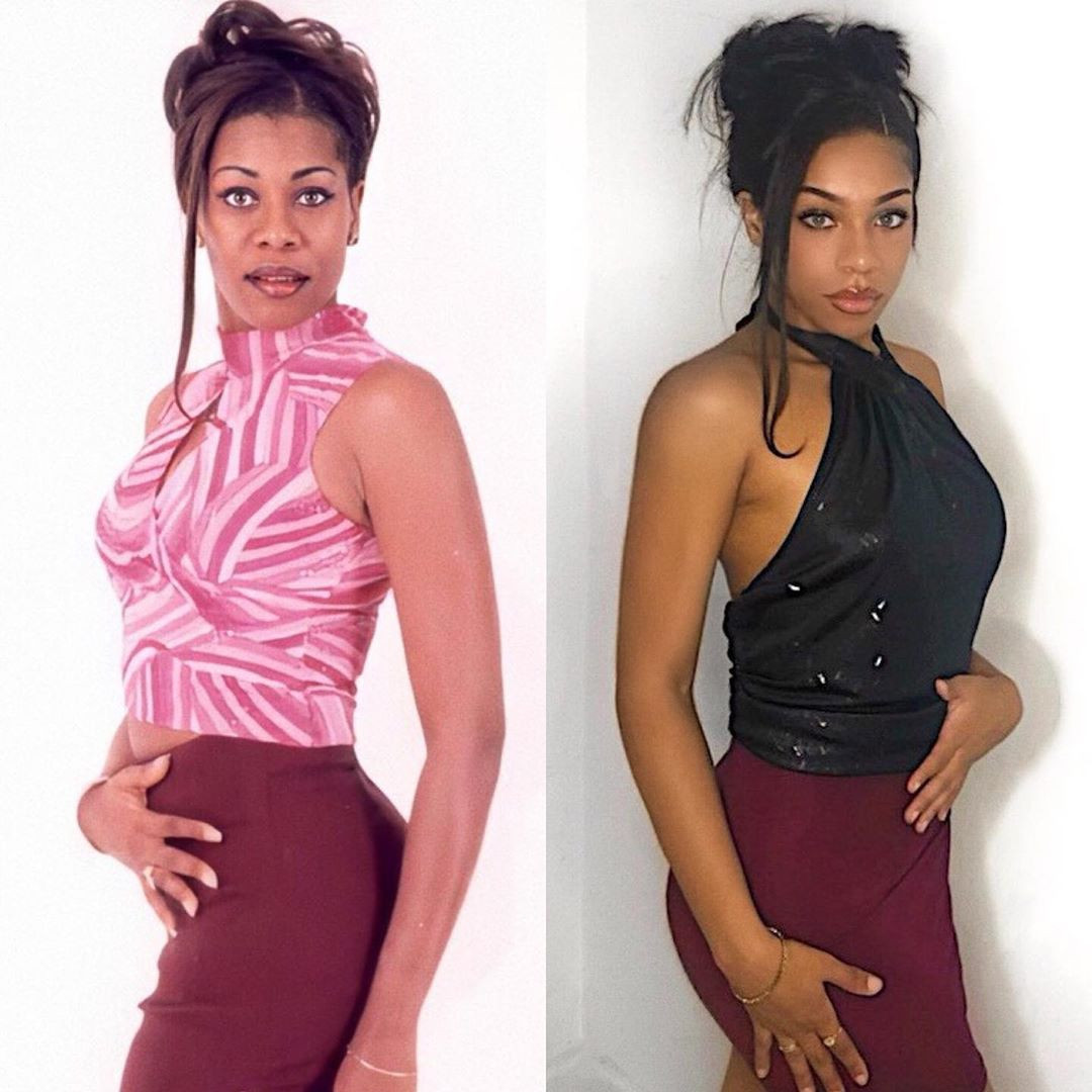 Regina Askia and daughter