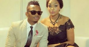 Diamond Diamond Platnumz and Wema Sepetu