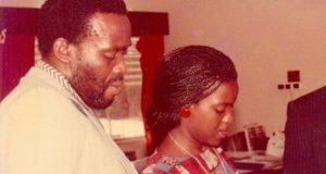 Joke Silva and Olu Jacobs