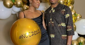 Naeto C and his wife, Nichole