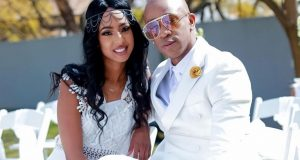 Mafikizolo's Theo Kgosinkwe and his wife