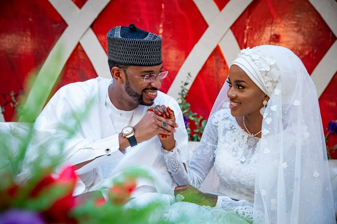 Hanan Buhari and her husband, Turad Sha'aban