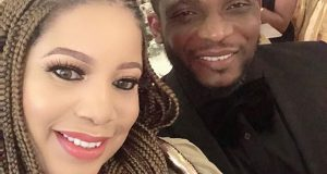 Monalisa Chinda and her husband