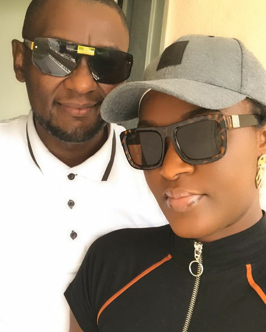 Chacha Eke Faani and her husband