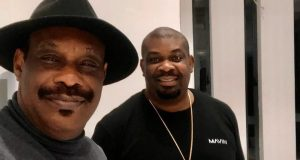 Don Jazzy and his Dad