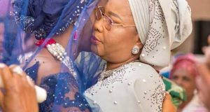 Wendy Lawal and her late mother