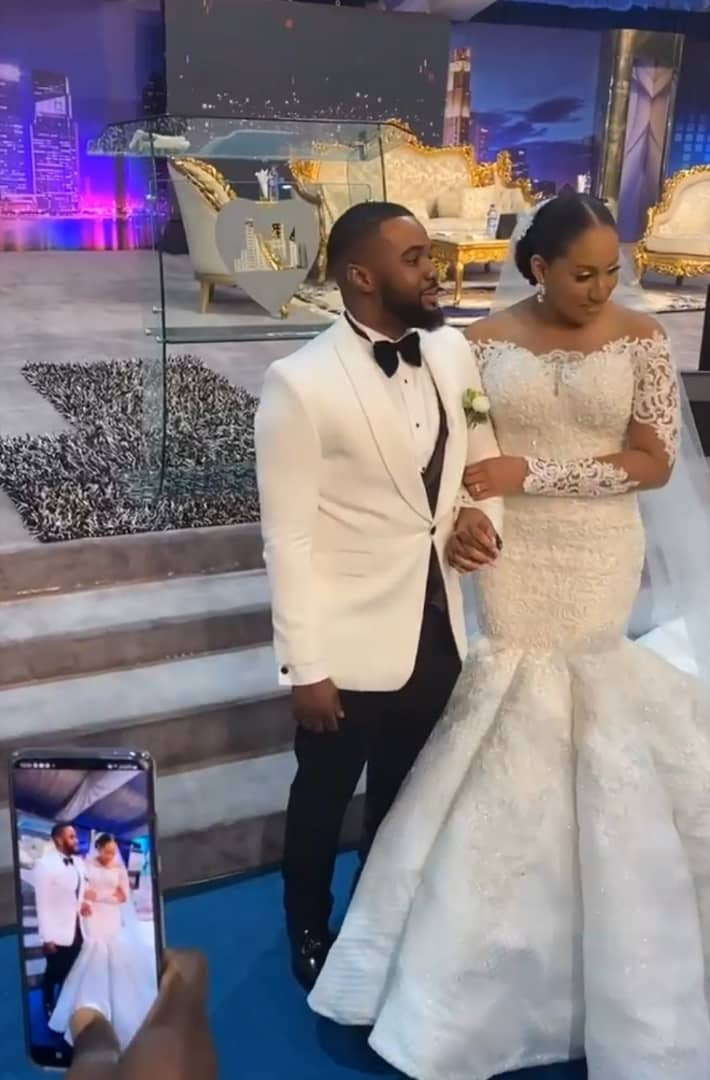 William Uchemba and his wife