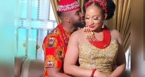 Williams Uchemba and his wife