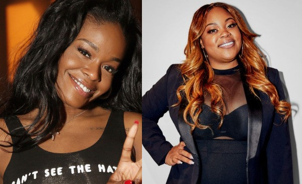 Azealia Banks and Angela Nwandu