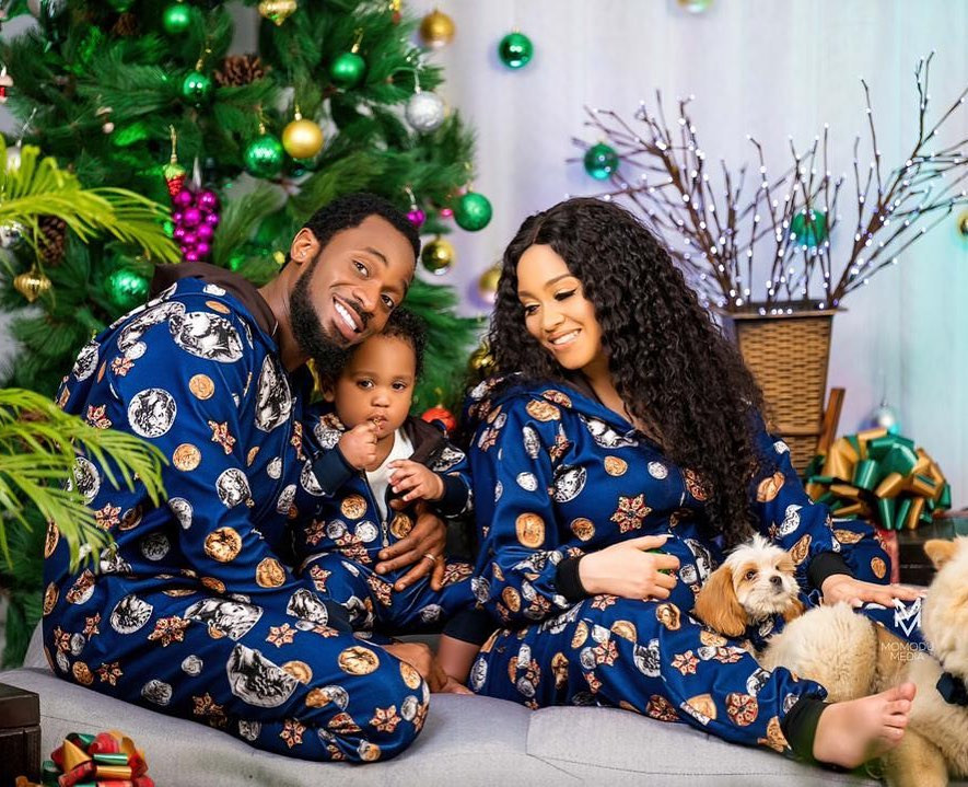 D'banj and his family