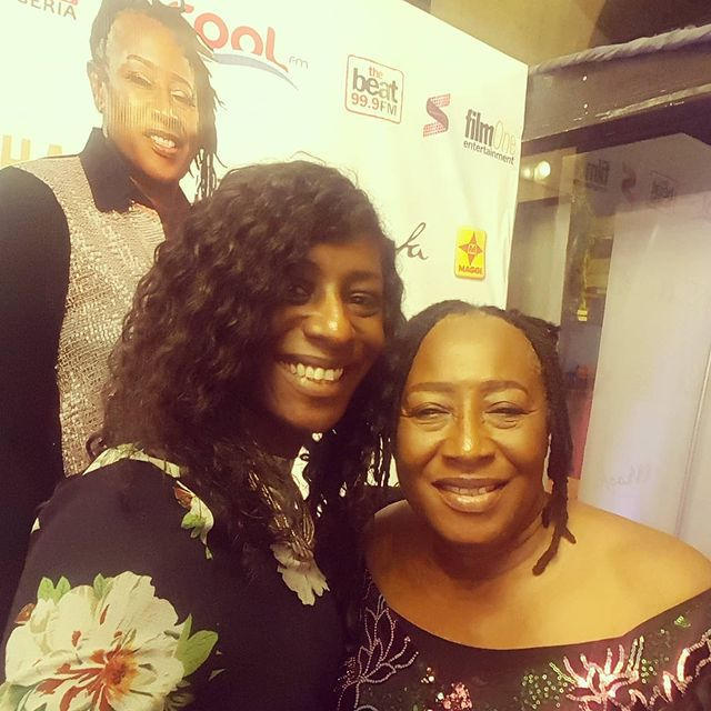 Patience Ozokwor and her daughter