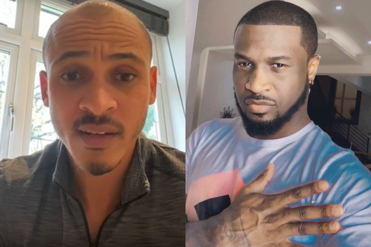 Peter Okoye and Osaze Odemwingie