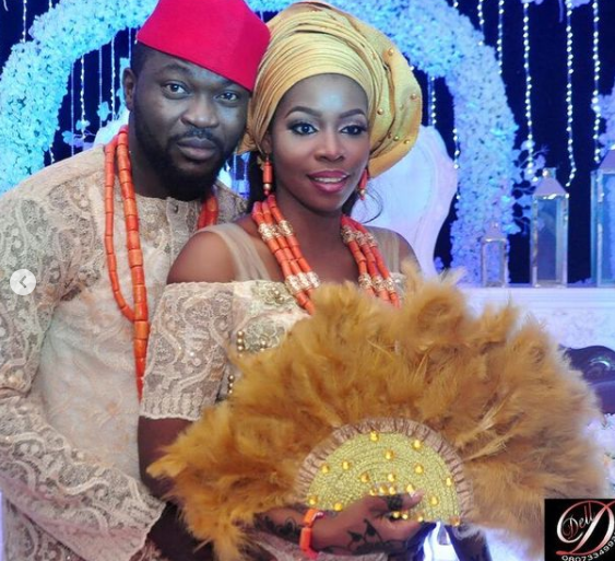 Buchi and his wife, Rukky