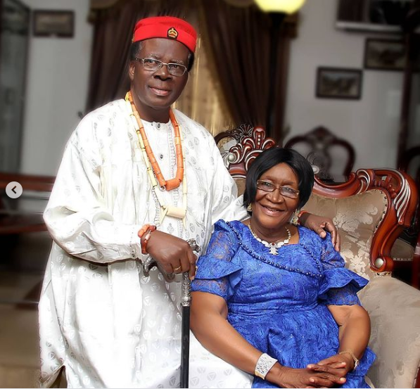 Ebuka Uchendu's parents