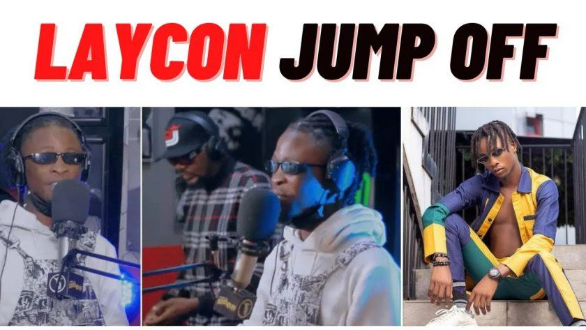 Laycon On Jimmy's Jump Off