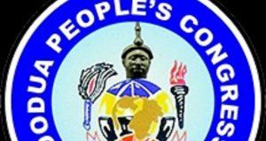 The Oodua People's Congress, OPC