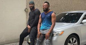Flavour and his friend