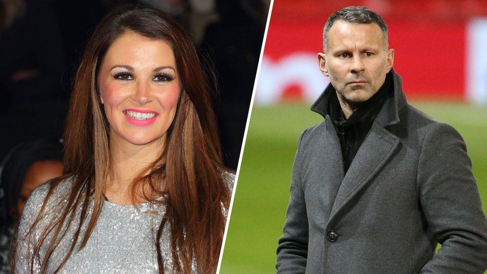 Ryan Giggs and his ex wife