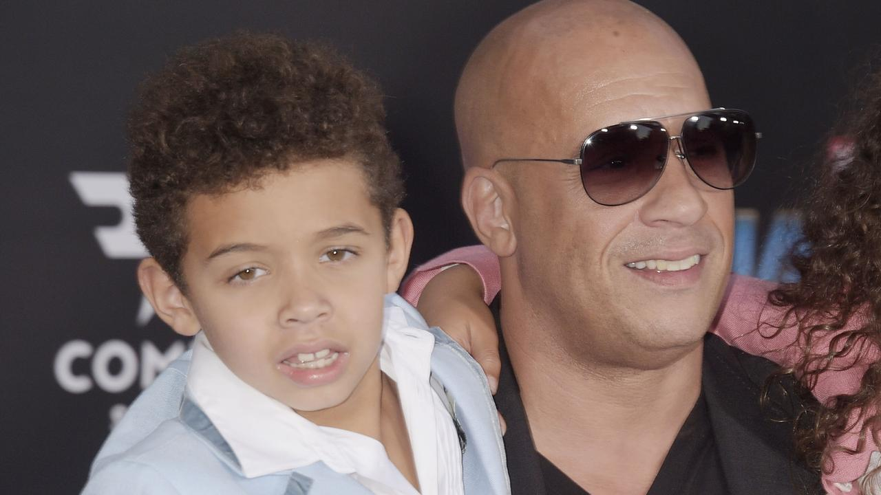 Vin Diesel and his son