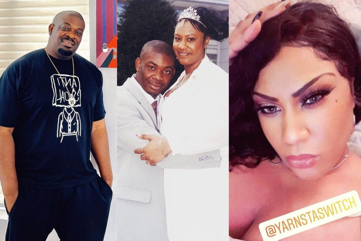 Don Jazzy and Michelle Jackson