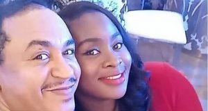 Benedicta Elechig and Daddy Freeze