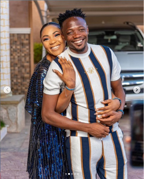 Ahmed Musa and his wife