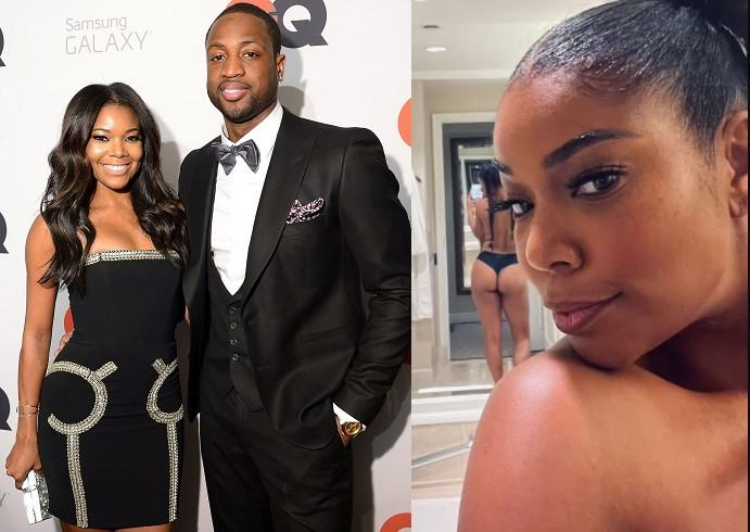 Dwyane Wade and his Gabrielle Union